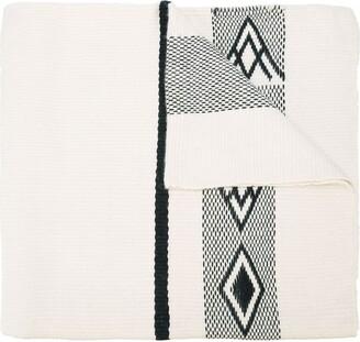 Voz Wide Diagonal Wrap scarf