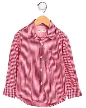 Appaman Fine Tailoring Boys' Checkered Button-Up Shirt