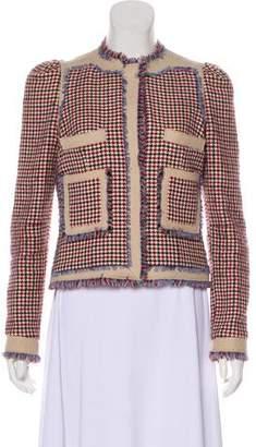Balenciaga Collarless Long Sleeve Jacket