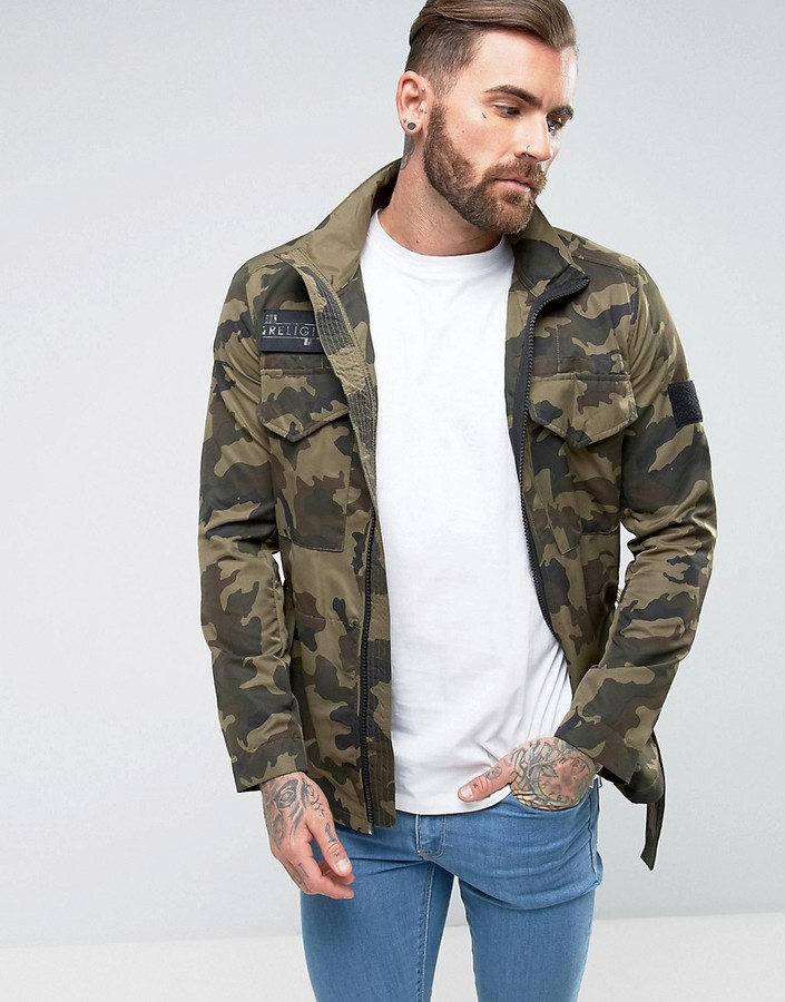 Religion x Wretch 32 Camo Jacket - ShopStyle