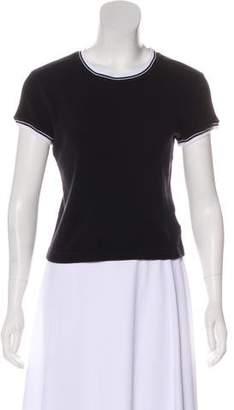DKNY Crew Neck Short Sleeve Top