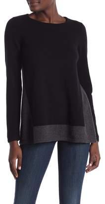GRIFFEN CASHMERE Colorblock Cashmere Pullover