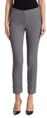 Emporio Armani Slim Wool-Blend Pants