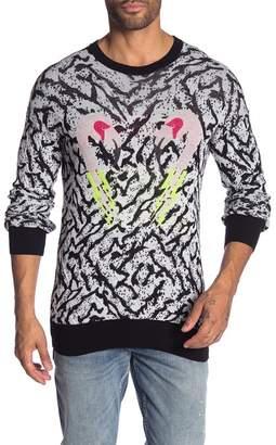 Diesel Flamingo Printed Sweater
