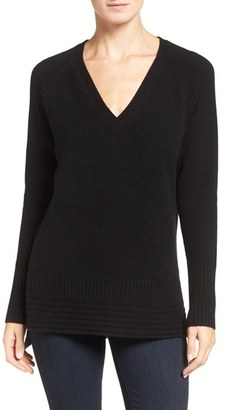Women's Nordstrom Collection Cashmere High/low Pullover $299 thestylecure.com
