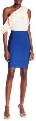 OnTwelfth Midi Bandage Skirt