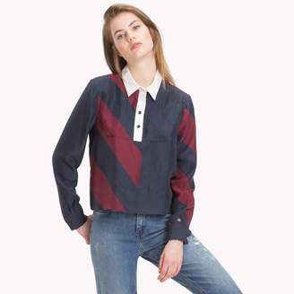 Tommy Hilfiger Tommy Icons Silk Blouse