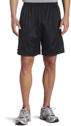 MJ Soffe Soffe Men's Nylon Mini-Mesh Fitness Short