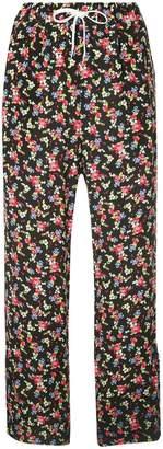 G.V.G.V. floral print trousers