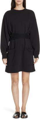 Proenza Schouler PSWL Belted Sweatshirt Dress