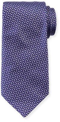Giorgio Armani Micro Neat Silk Tie, Purple