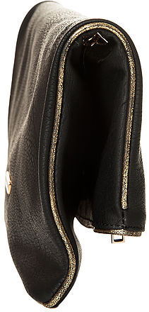 Urban Expressions The Rush Clutch in Black