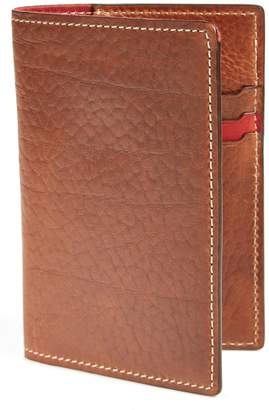 Trask 'Jackson' Bison Leather Passport Holder