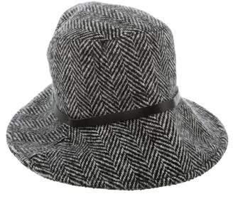 Burberry Herringbone Bucket Hat
