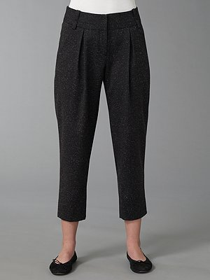 Robert Rodriguez Cropped Tweed Pants