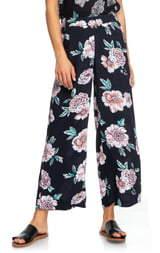 b0b51cde773 Roxy Midnight Avenue Floral Print Pants