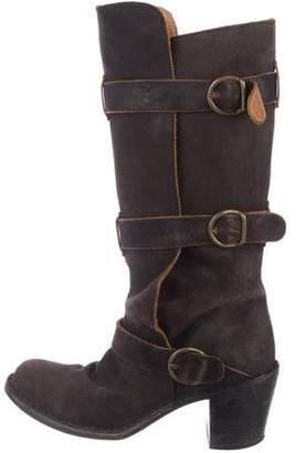 Fiorentini+Baker Distressed Leather Boots