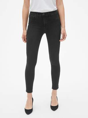 Gap Mid Rise Favorite Ankle Jeggings with Raw Hem