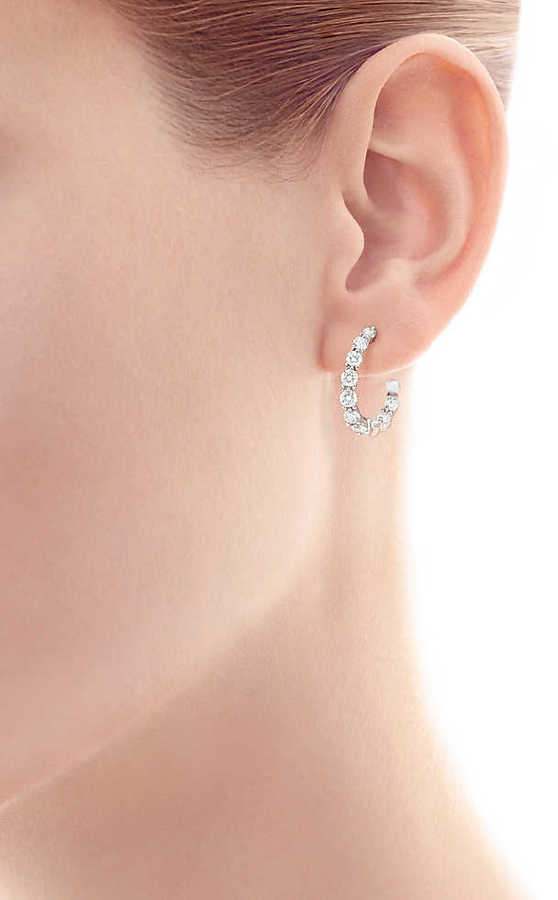 Tiffany & Co. Inside-out Hoop Earrings