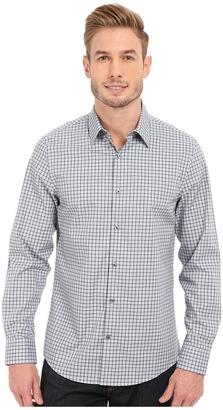 Perry Ellis Slim Fit Multicolor Check Pattern Shirt $59.99 thestylecure.com