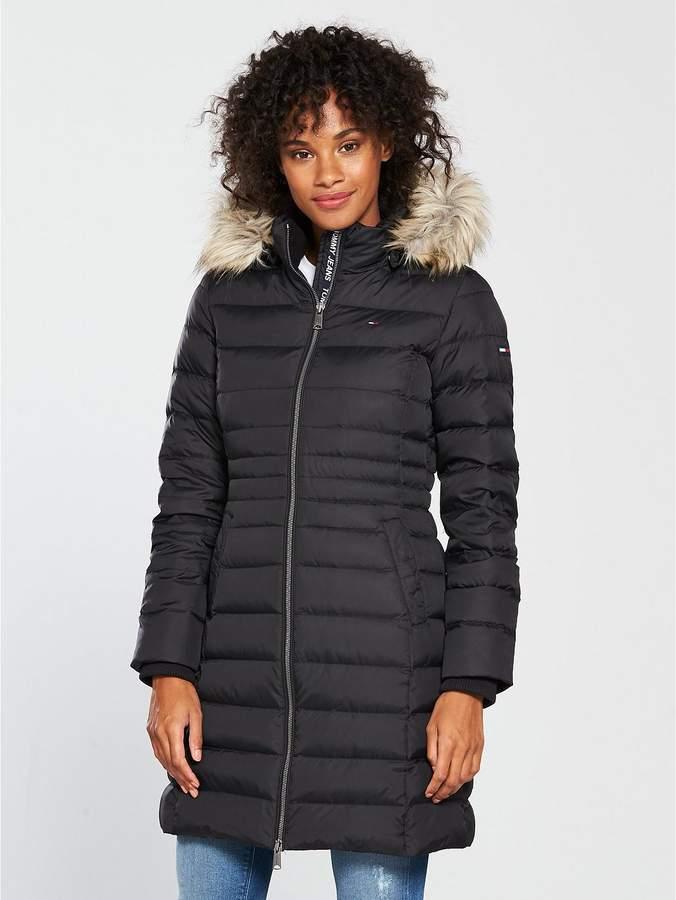 Essential Hooded Down Coat