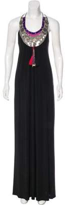 T-Bags LosAngeles Tbags Los Angeles Embellished Maxi Dress
