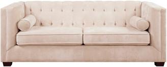 Coaster Correy Collection Chenille Sofa In Beige