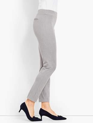 Talbots Melange Bi-Stretch Pull-On Skinny Ankle