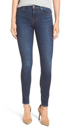 Women's J Brand Maria High Waist Skinny Jeans $198 thestylecure.com