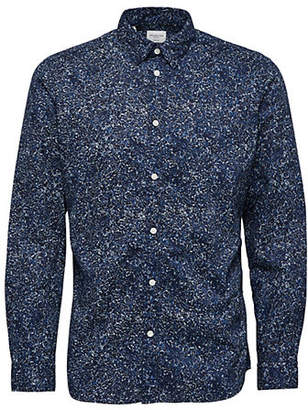 Selected Printed Cotton Sport Shirt