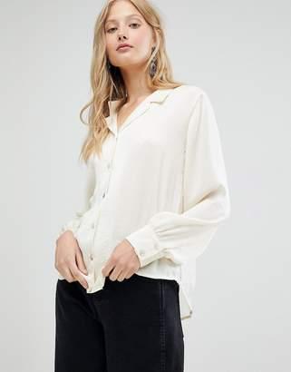 d.RA Margot Open Collar Shirt