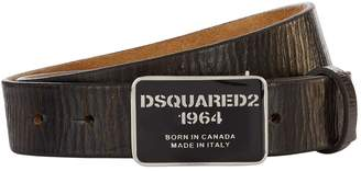 DSQUARED2 Vintage Leather Belt