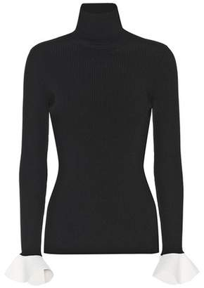 Valentino Ribbed turtleneck sweater