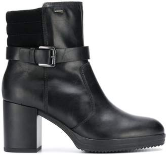 Geox buckled ankle boots