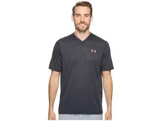 Under Armour UA Threadborne V-Neck Short Sleeve Men's Clothing