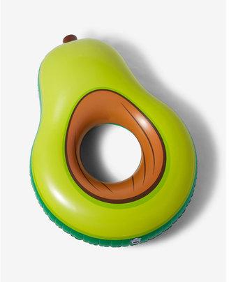 Express Big Mouth Inc. Giant Avocado Floatie $25 thestylecure.com