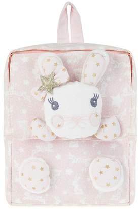 Monsoon Girls' Pink 'Lila' Bunny Backpack