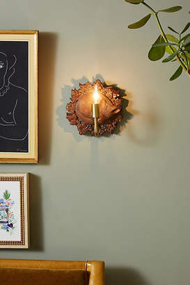 Anthropologie English Garden Fox Sconce