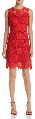 T Tahari Jolie Sleeveless Lace Dress