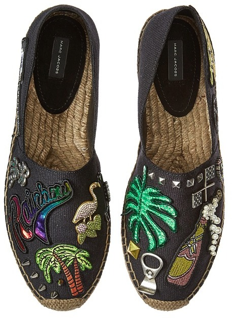 Marc JacobsMarc Jacobs - Sienna Flat Espadrille Women's Flat Shoes