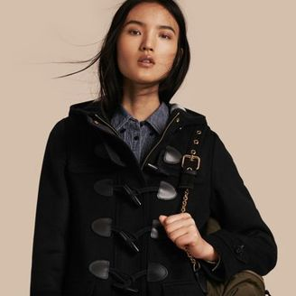 Burberry Straight Fit Duffle Coat $995 thestylecure.com