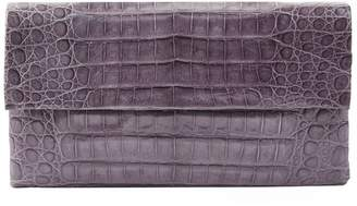 Nancy Gonzalez Small Crocodile Gotham Clutch Bag