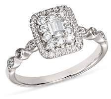 Bloomingdale's Diamond Emerald-Cut Engagement Ring in 14K White Gold, 0.50 ct. t.w. - 100% Exclusive