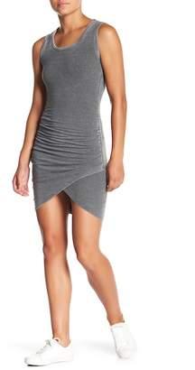 American Twist Ruched Seam Bodycon Dress