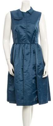 Marc by Marc Jacobs A-Line Midi Dress $145 thestylecure.com
