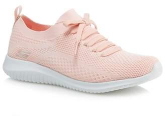 Skechers Light Pink 'Ultra Flex Statements' Trainers