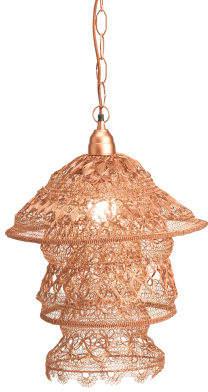 Made In India Brocade Pagoda Pendant