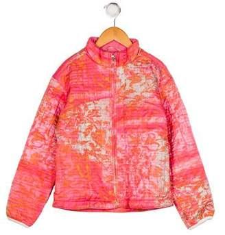 Obermeyer Girls' Mock Neck Printed Jacket