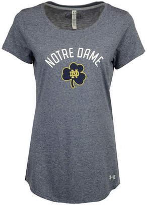 Under Armour Women Notre Dame Fighting Irish Longline T-Shirt
