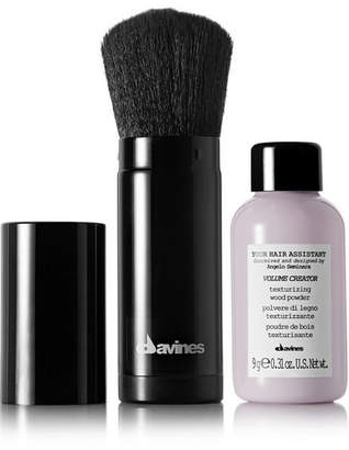 Davines Your Hair Assistant Volume Creator Powder And Brush Duo - one size
